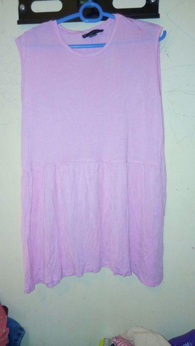 Blusa rosa tamanho XL