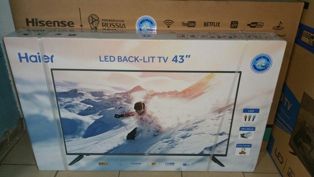Promoção de tvs haier LED FULL HD 43 polegadas novas na caixa