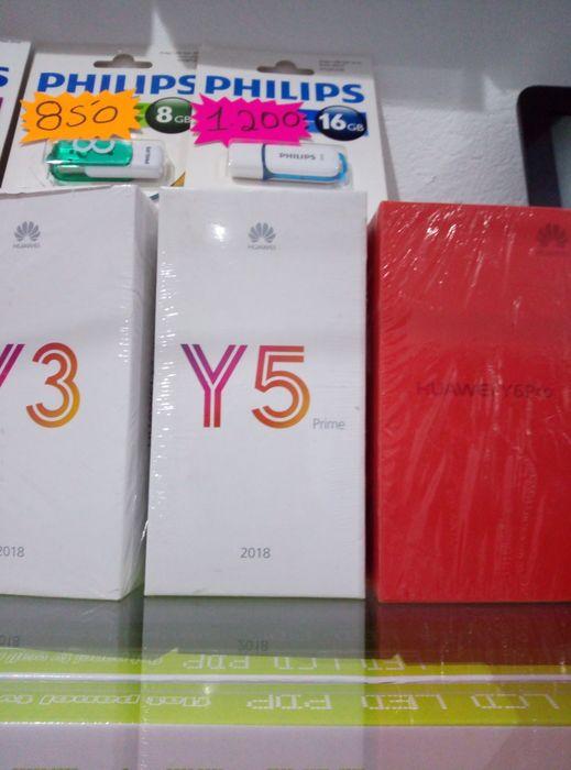 Huawei Y5 Prime novos com garantia