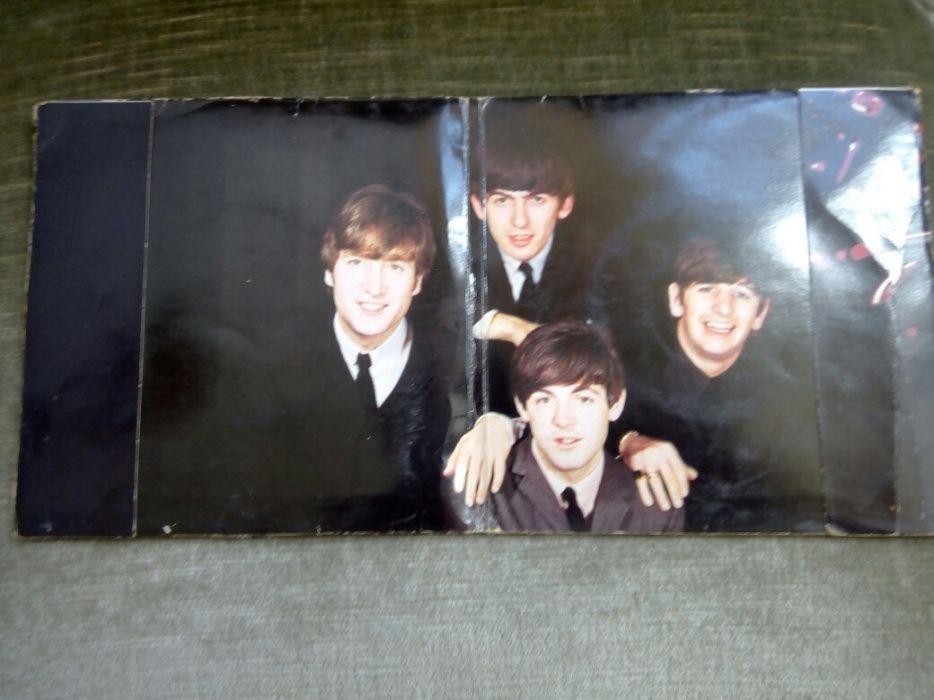 Vinil de colecție The Beatles prima presa