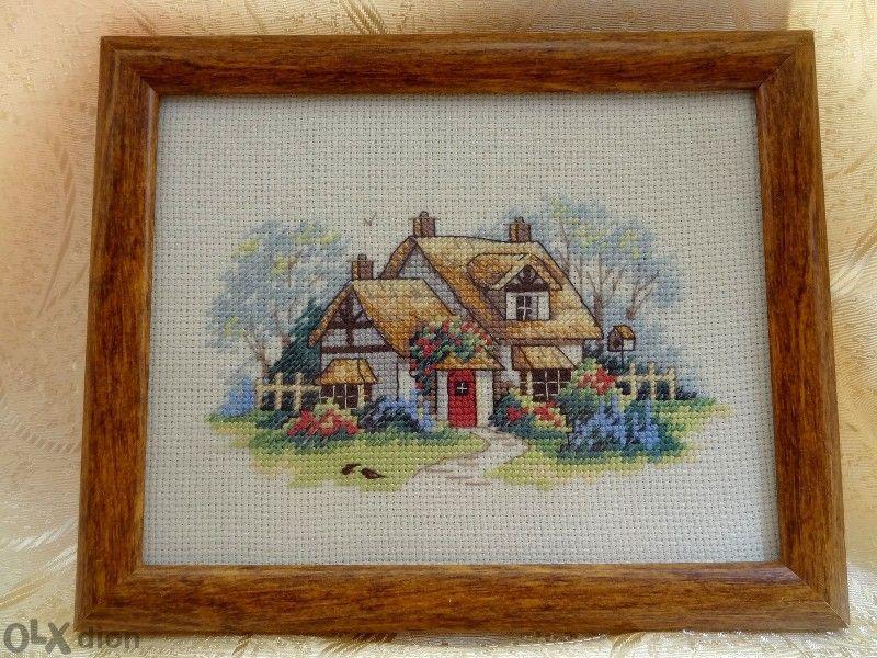 Гоблен 06891 Dimensions - Serene Cottage, в рамка