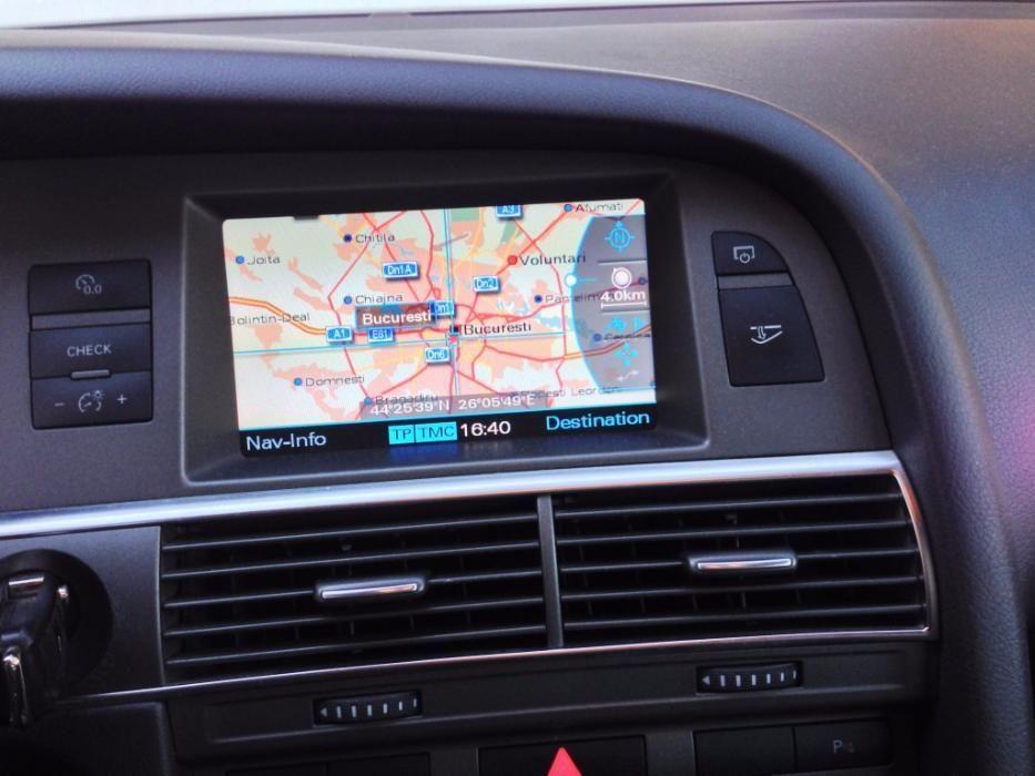 DVD harti 2018 Audi A4, A5, A6, A8, Q7 MMI 2G harta ROMANIA 2018