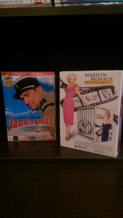 Colectii DVD ; Jandarmul;Marilyn Monroe