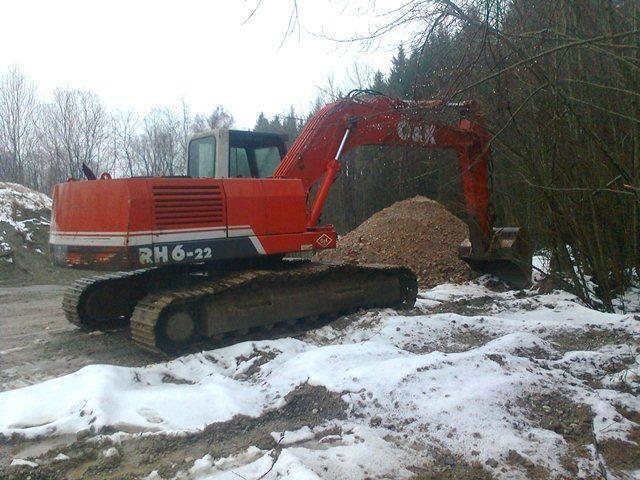 Dezmembrez Excavator O&K RH6 Plopsoru - imagine 4
