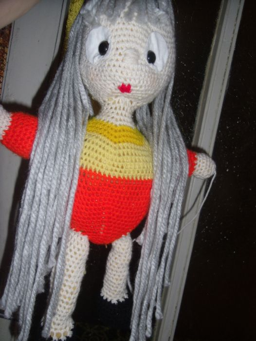 papusa tricotata, noua