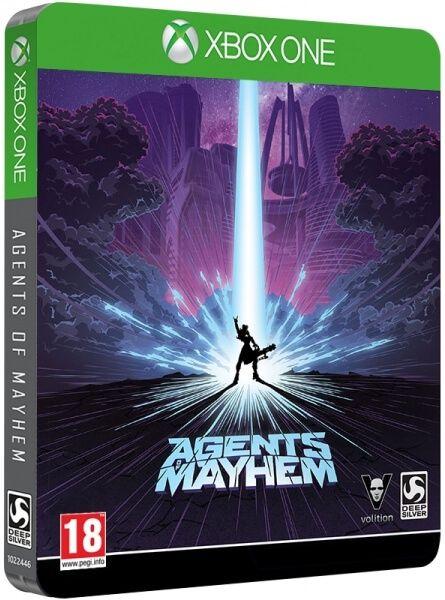 Agents of Mayhem Steelbook Xbox one