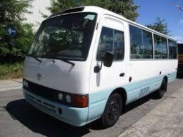 Mini autocarro coaster novo a venda