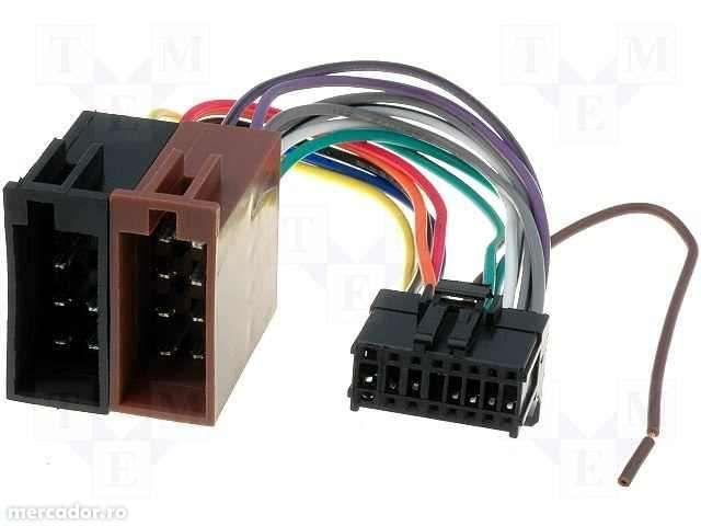 Adaptor mufa radio CD auto de la Euro-ISO la aparate Pioneer 16 pini d