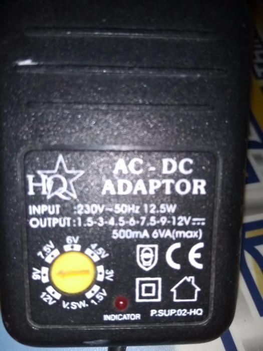 Alimentator cu adaptor