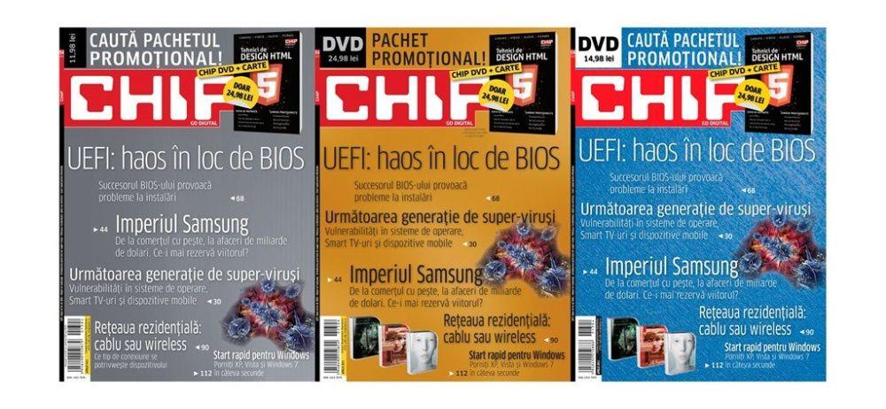 Vand numere din revista CHIP - pentru colectionari - stare foarte buna