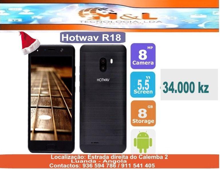 Telemovel Hotwav R18 Novo original