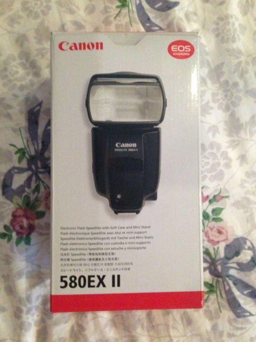 Вспышка Canon 580 EX2