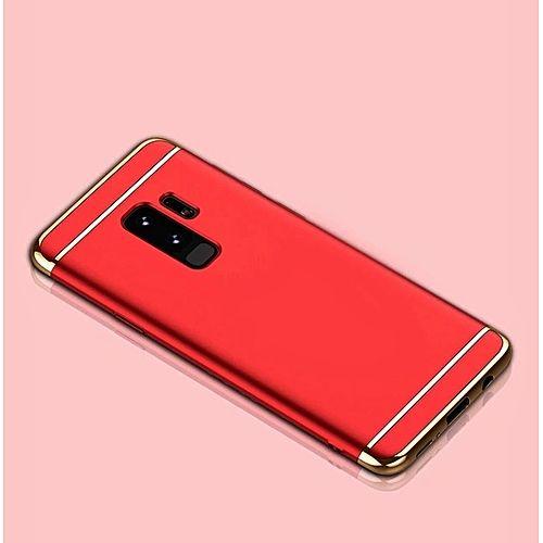 Husa Elegance Luxury 3 in 1 pentru Samsung S9 Rosie