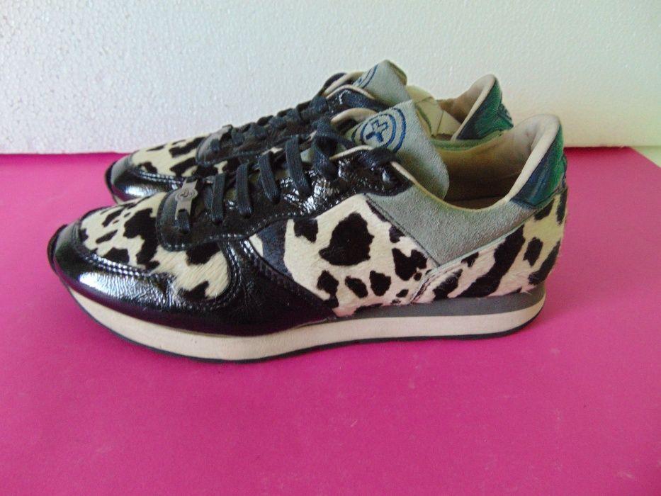 Gino-B номер 39 Оригинални дамски обувки Естествена кожа от пони