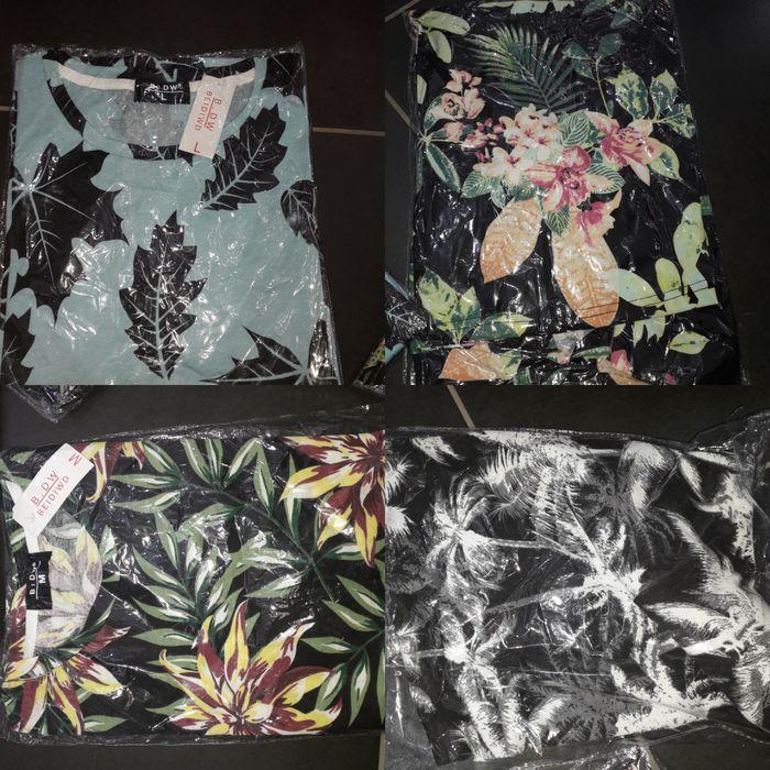 Camisetas tropicais