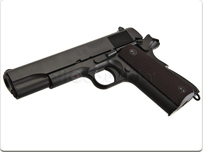 Pistol Automat Airsoft GEN ARMA ADEVARATA cu Aer Comprimat FULL METAL Craiova - imagine 1