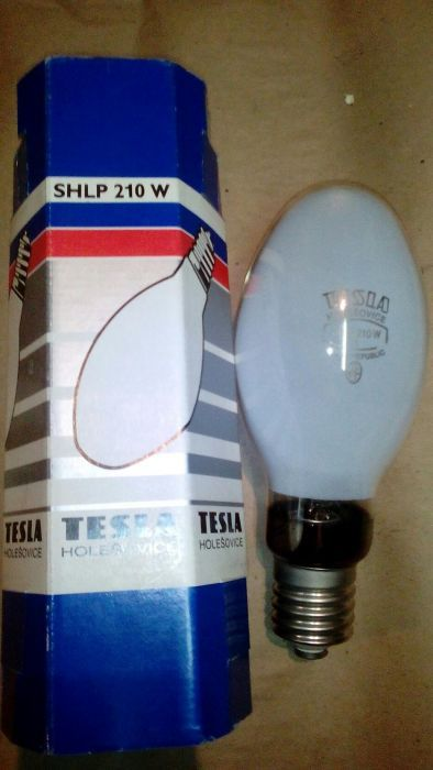 Bec TESLA, nou - 210 w- 220V original-E 40- cu dulie ceramica E 40/ B4