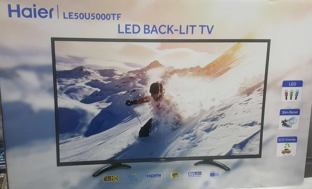 "Tv's Haier 50"" LED seladas"
