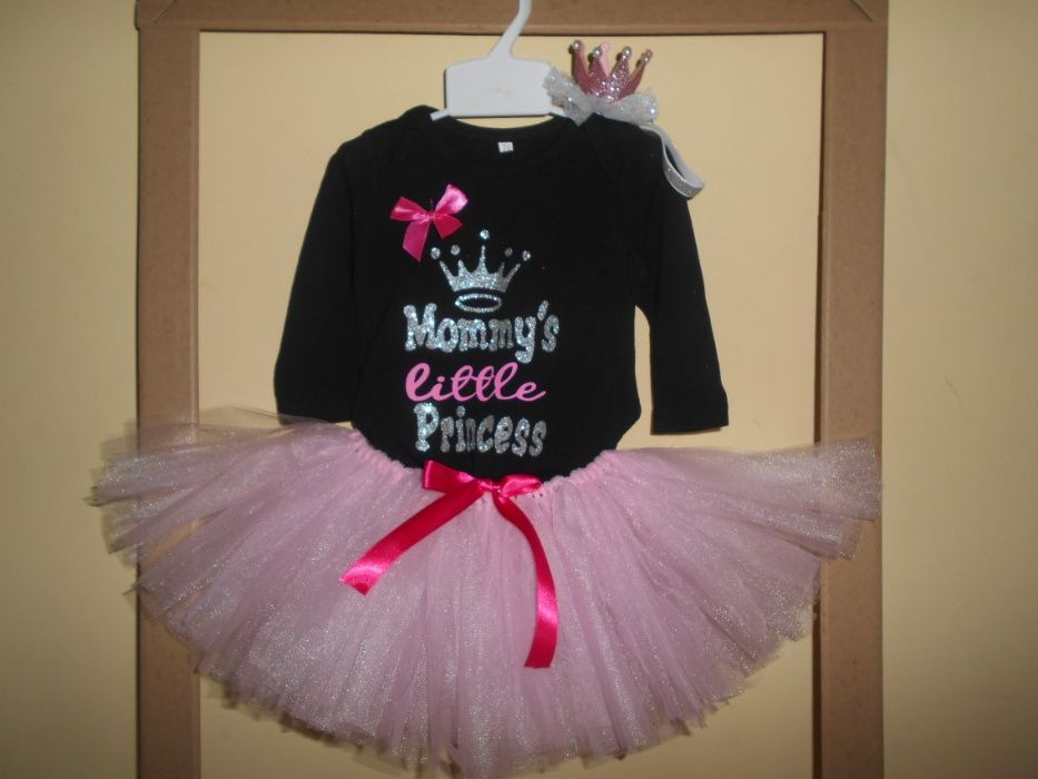 Set tutu Mommy's Princess 1 an