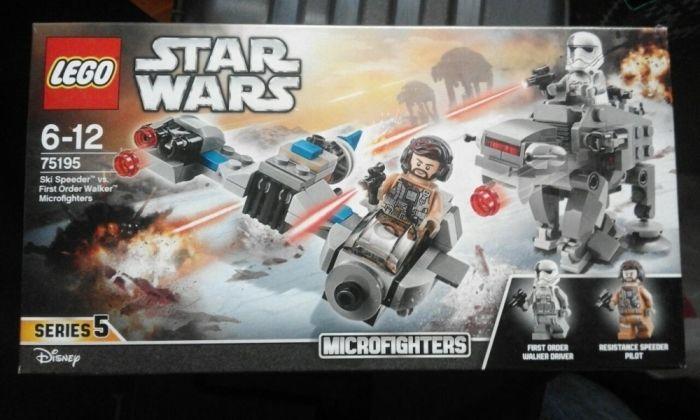 LEGO SW 75195 Ski Speeder Contra Walker Al Ordinului Intai Microfigter