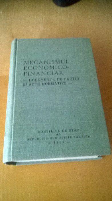 Mecanismul economico-financiar