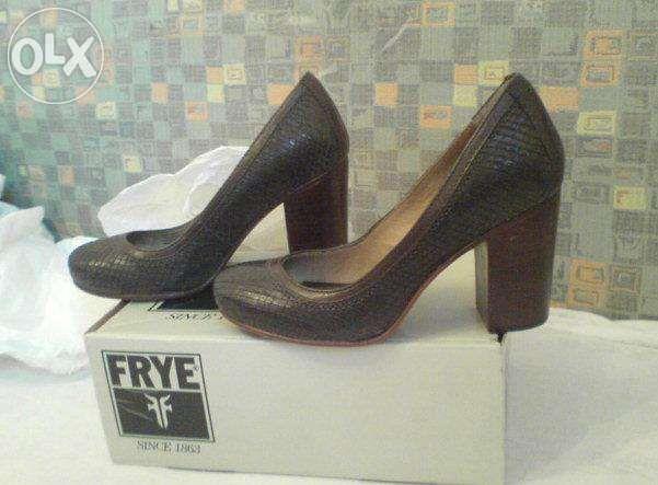 pantofi cu toc Frye, integral piele, 36