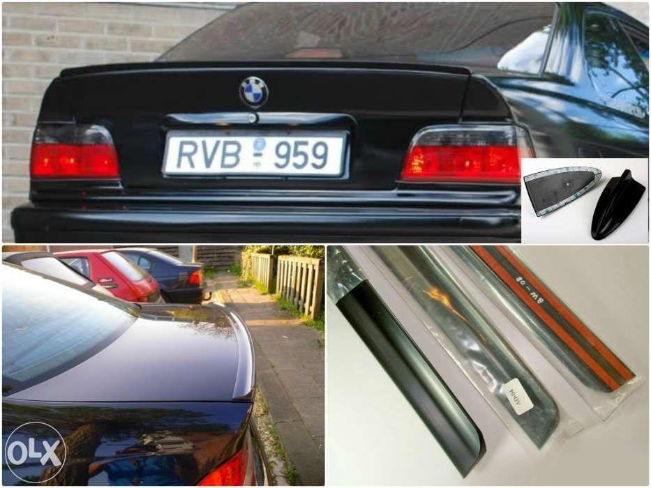PROMO Eleron portbagaj lip codita BMW E36 E46 + Antena coada de rechin