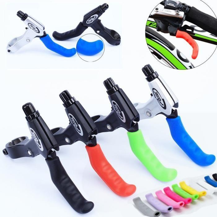 Set protectie silicon mansoane frana bicicleta