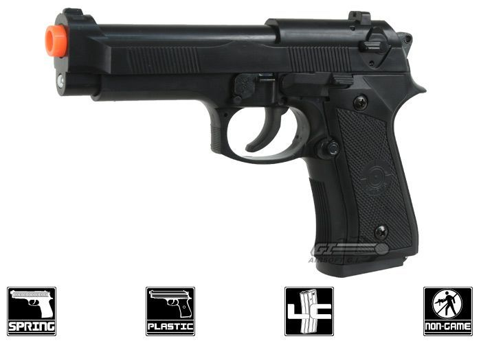 Pistol Spring Airsoft MANUAL Ieftin ARC *Modificat* F.PUTERNIC FPS-370