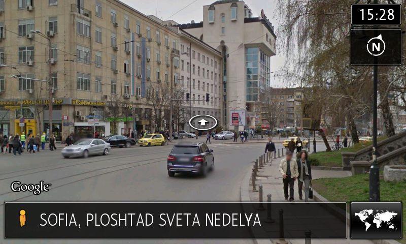 VW RNS 850 Навигация Google Earth/Street View/Карта за 2018г.