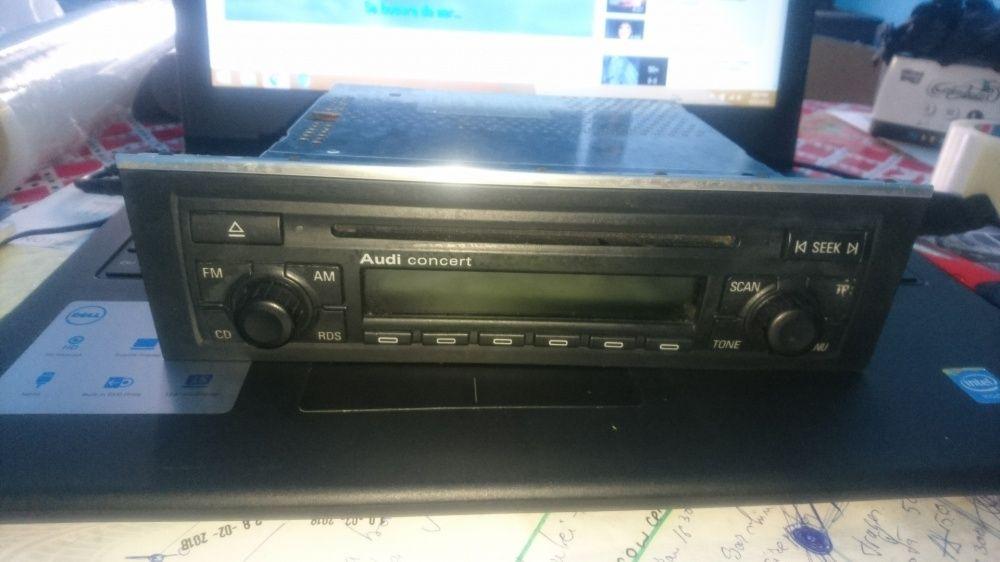 Radio cd audi concert compatibil cu audi A3 8P audi A4 B6 si B7