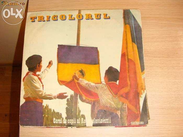 Disc Vinyl Tricolorul