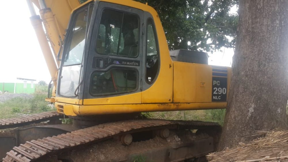 Komatsu PC290 nlc Chain excavator / retroexcavadora