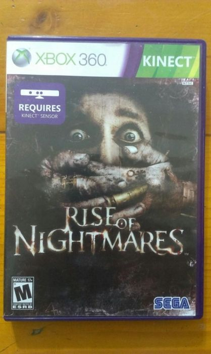 Joc xbox 360 Rise of nightmares kinect original
