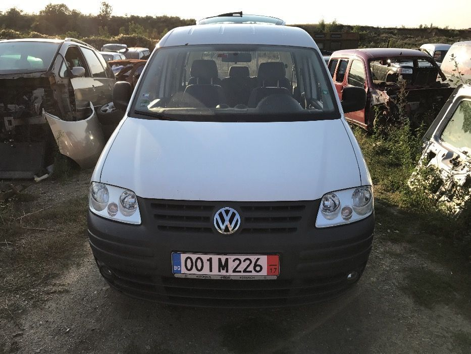 НА ЧАСТИ! VW Caddy 2.0i , Ecofuel , LIFE , Фолксваген Кади Метан