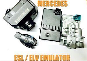 Емулатор 300лв ELV/ESL(и Ремонт) за Mercedes W204,W212,GLK и други