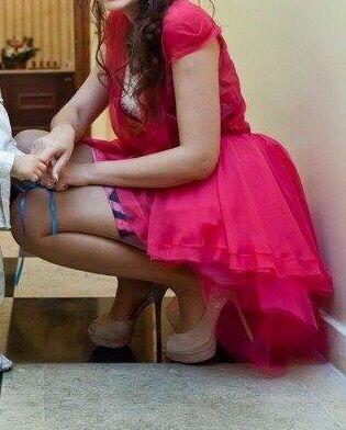 Rochie roz creator Lena Criveanu(inspirație Dior) 36 Banesti - imagine 6