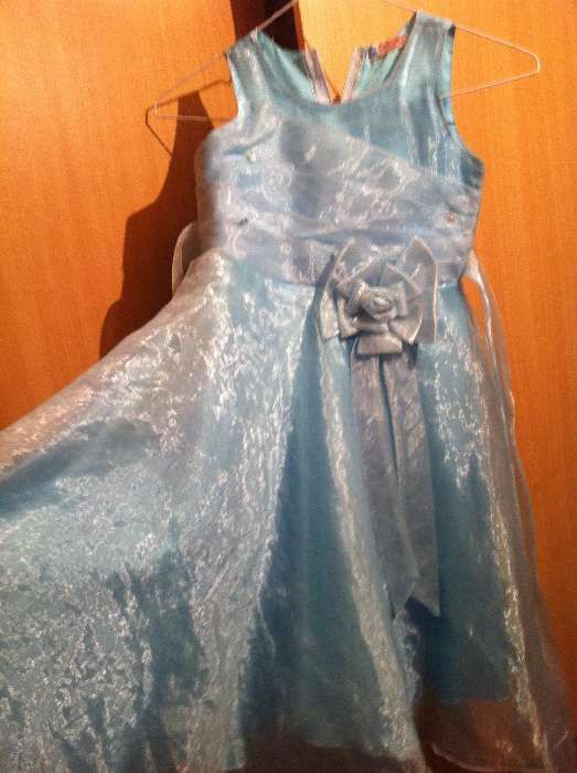 Rochie de printesa bleu