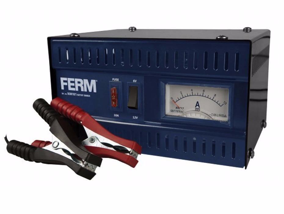 Incarcator redresor baterie 6V/12V 5A FERM BCM1021