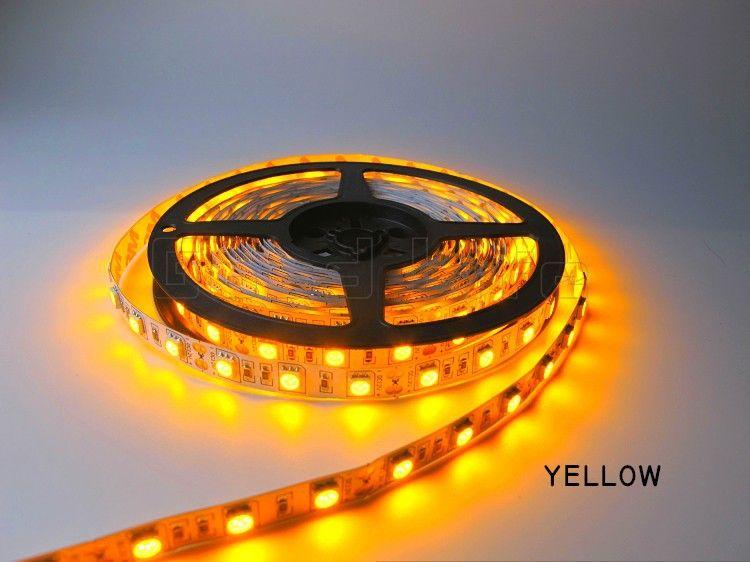 Свето-диодная LED лента SMD цвет ЖЁЛТЫЙ питание 12 вольт и есть друг.