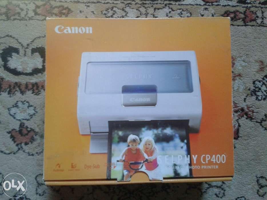 Mini Imprimanta Foto Canon Selphy CP400 (la Cutie)