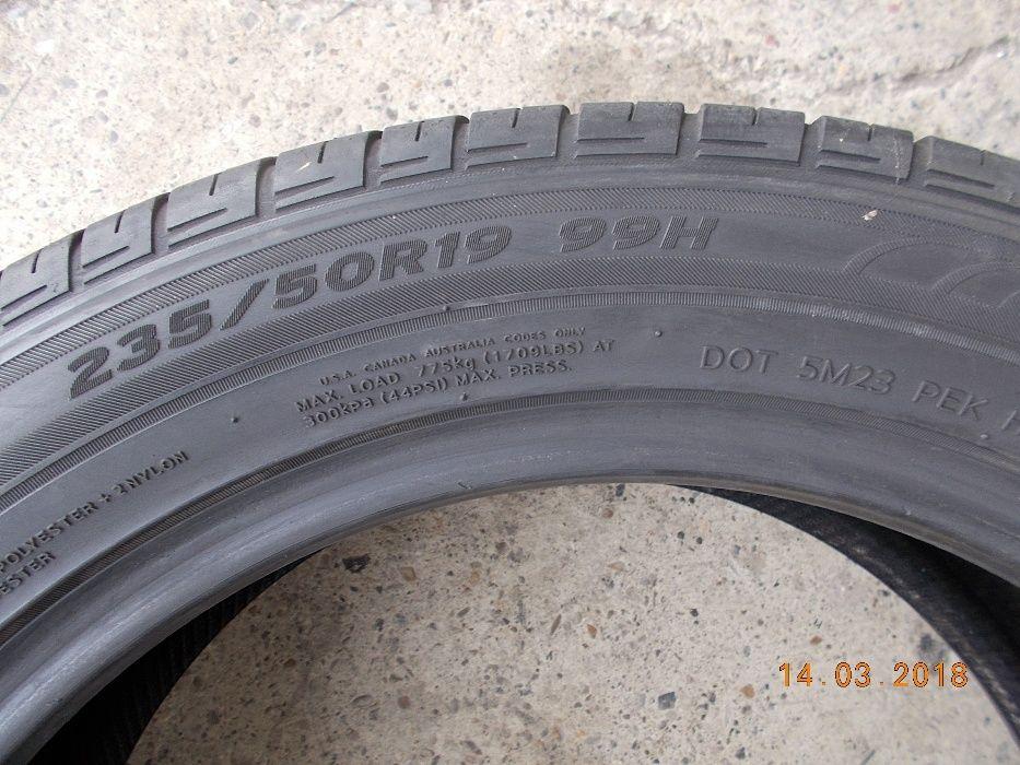 4 anvelope vara 235 50 19 hanckook dot 2011 profil 6,5 mm Bacau - imagine 3