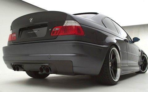 Спойлер заден капак CSL за BMW E46