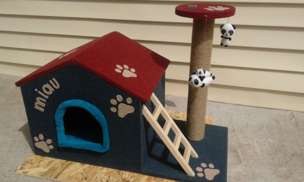Casuta pisici(SISAL)-SUPER OFERTA!!! Pitesti - imagine 2