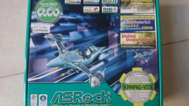 Placa-mãe ASROCK Socket 939NF6G+Procesador AMD ATHLON 3500+AM2