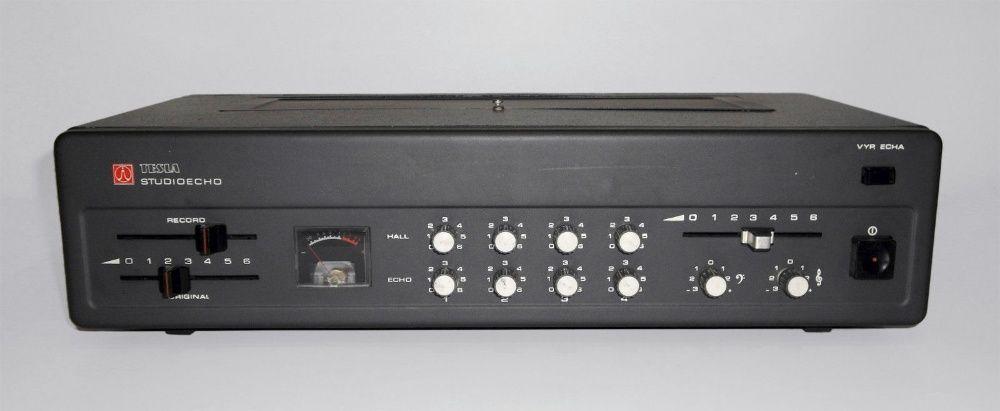 TESLA AOS-191 vintage 1980 analog tape delay reverb ретро лентово ехо