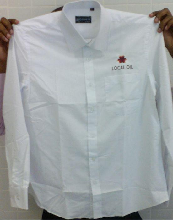 bordados/timbragem camisas e camisolas tshirt