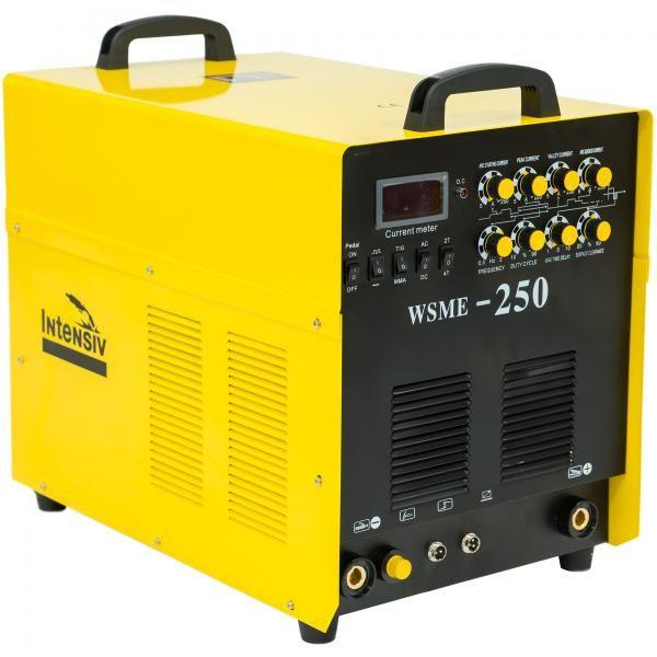 Invertor de sudura aluminiu TIG/MMA INTENSIV WSME 250 AC/DC 400V 53018