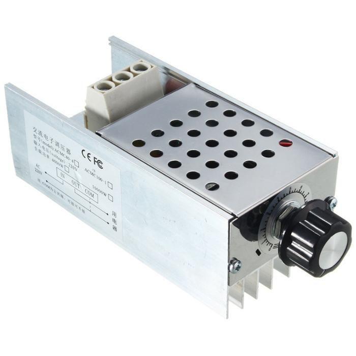 Variator tensiune regulator turatie motor curent alternativ10000W 220V