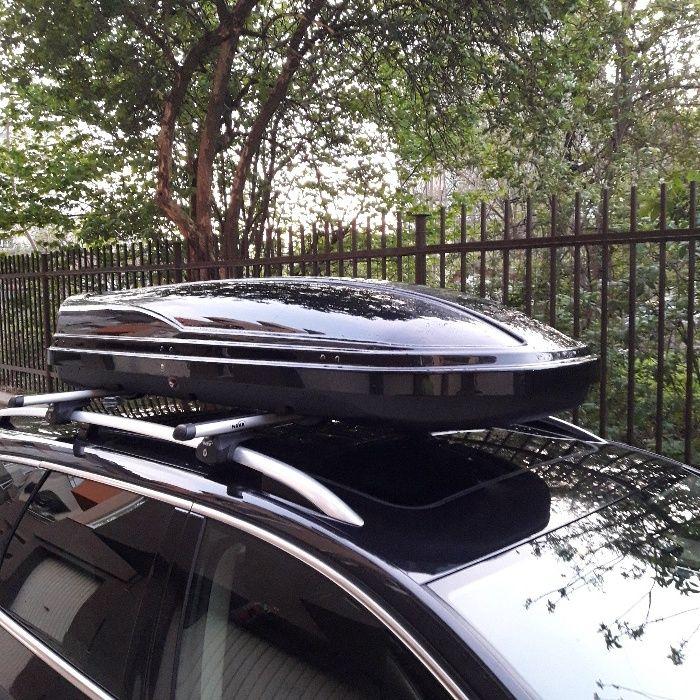 Кутия за багаж, багажник за кола, ски кутия под наем 350л и 450литра